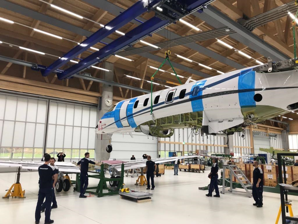 First Pilatus PC-24 delivery in Europe in our CAMO – May 2018